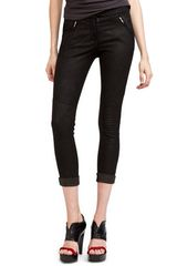 A.L.C. Jess Stretch Leather Pant in Black - Lyst
