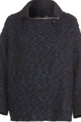 Isabel Marant Wooly Short Coat - Lyst