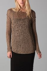 Kelly Bergin Chainmail Pullover - Lyst