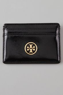 Tory Burch Robinson Slim Card Case - Lyst