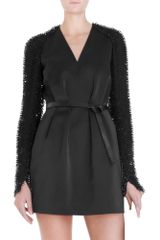 3.1 Phillip Lim Beaded Sleeve Dress - Lyst