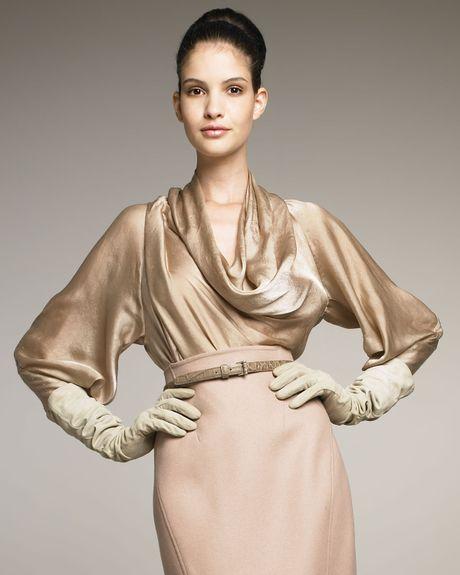Zara Open Sleeve Blouse 65