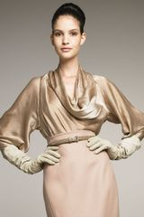 Donna Karan New York The Ultra Glam Satin Blouse - Lyst