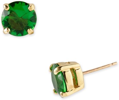 Kate Spade Cueva Rosa Stud Earrings in Green - Lyst