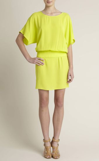 Adam Lippes Silk Dolman Dress - Lyst