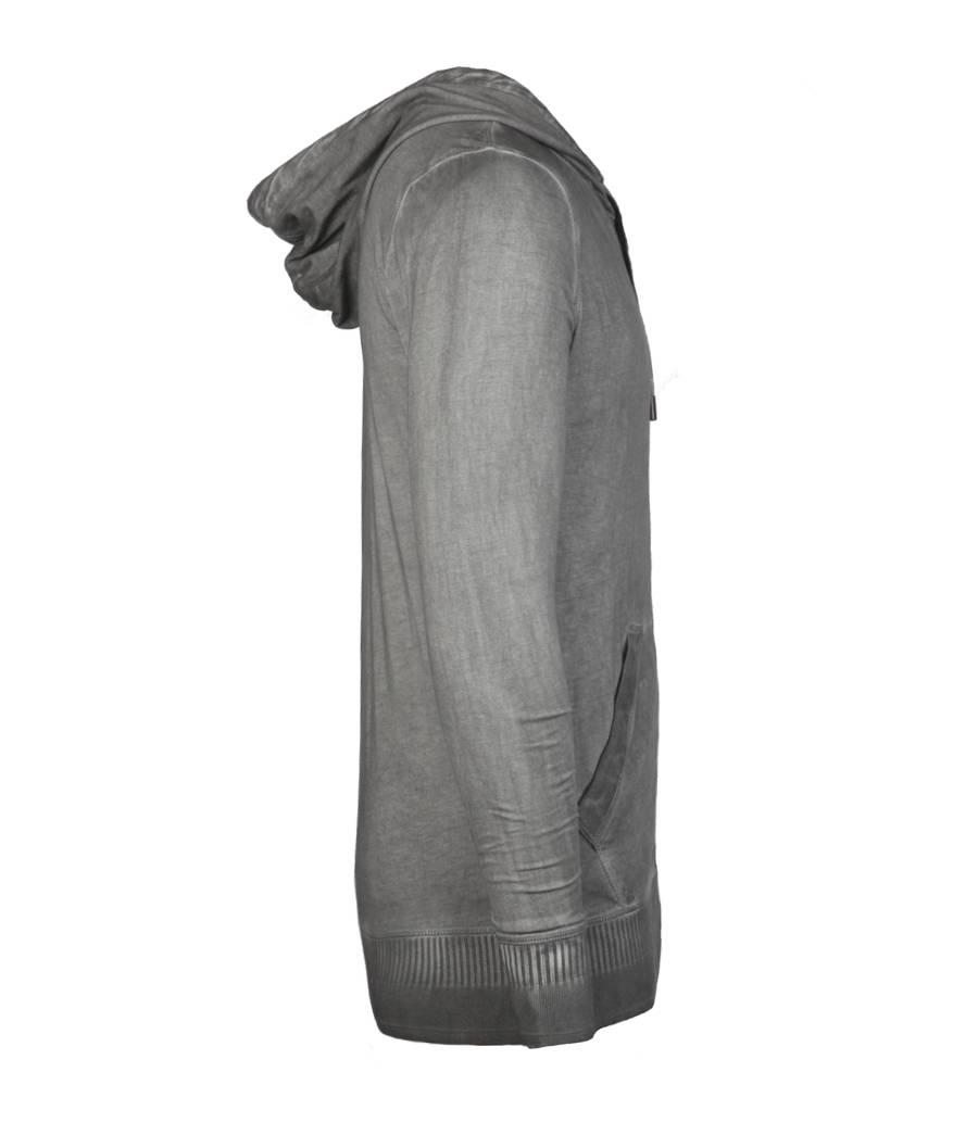 Allsaints Hertford Hoodie In Gray For Men Lyst