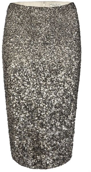 AllSaints Scala Pencil Skirt - Lyst