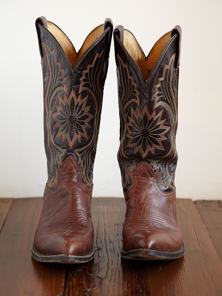 Vintage Cowgirl Boots Yu Boots