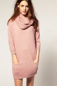 ASOS Collection Asos Dress with Snood - Lyst