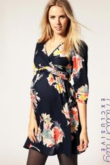 ASOS Collection Asos Maternity Exclusive Dress in Floral Print - Lyst