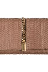 Christian Louboutin Catalina Watersnake Clutch - Lyst