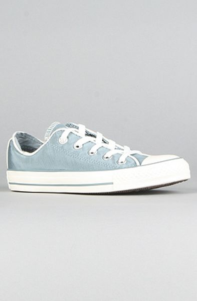 Converse The Piping Detail Chuck Taylor All Star Specialty Sneaker in Lead in Blue (lead) - Lyst