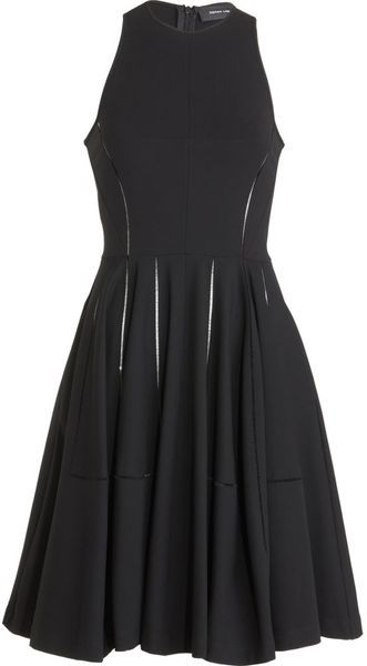 Derek Lam Open Seam Dress - Lyst
