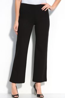 Eileen Fisher Straight Leg Ponte Pants - Lyst