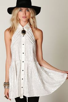 Free People Fp New Romantics Tailored Dress - Lyst