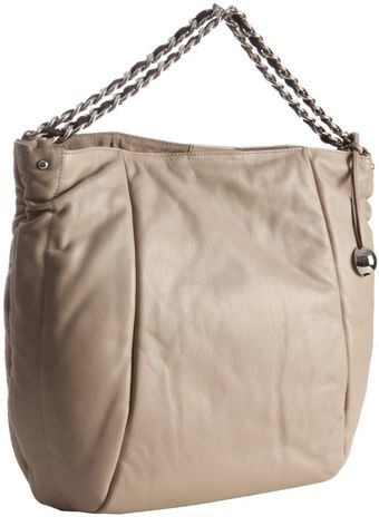 Furla Coffee Leather Chain Handle Tote - Lyst