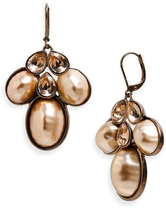 Givenchy Tuileries Pearl Chandelier Earrings - Lyst