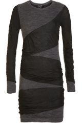 Isabel Marant Diagonal Wrap Dress - Lyst