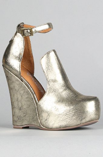 Jeffrey Campbell The Thelma Shoe in Bronze - Lyst