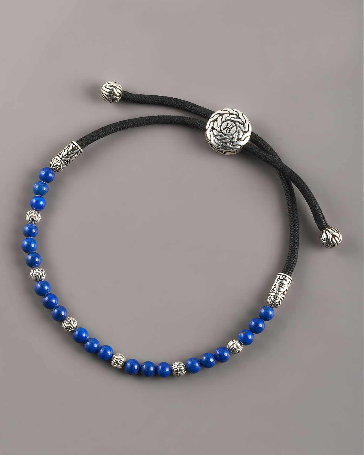 John Hardy Lapis Bead Bracelet In Blue For Men Lyst