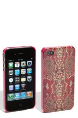 Marc By Marc Jacobs Snake Iphone 4 & 4s Cover - Lyst