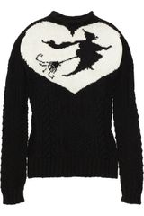 Meadham Kirchhoff The Witch Intarsia Wool Sweater - Lyst