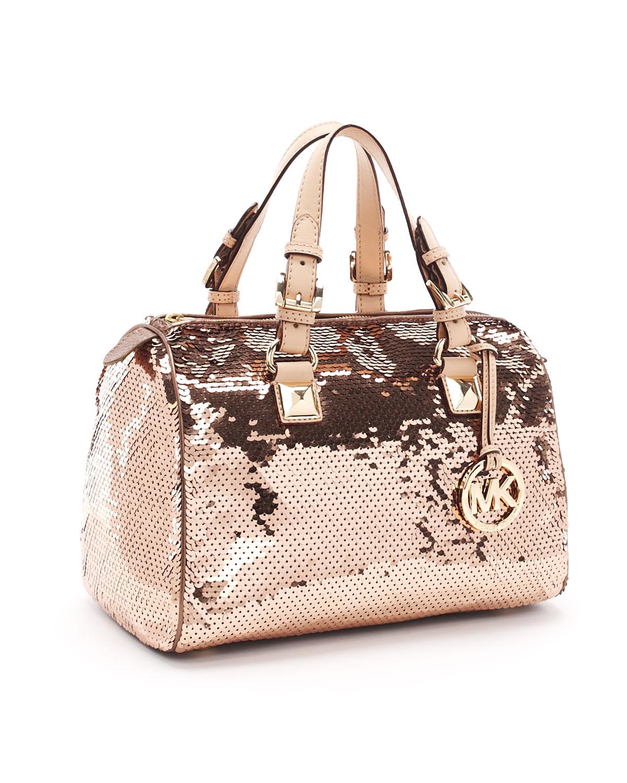 a6edf291a6f02f get michael kors grayson metallic satchel pale gold f4d48 206e9; italy  gallery. womens michael kors grayson c13ec 481ed