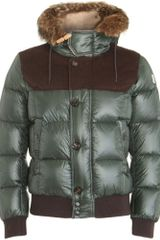 Moncler Damien Hooded Down Jacket - Lyst