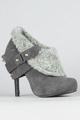 Naughty Monkey The Purr Shoe in Gray - Lyst