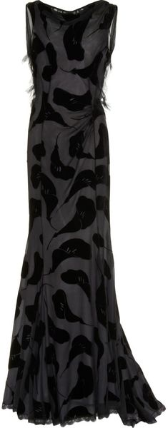 Nina Ricci Lily Printed Dress - Lyst