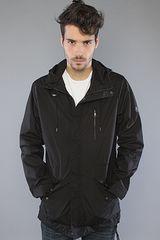 Nixon The Contour Jacket in Black - Lyst