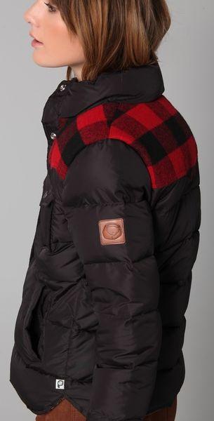 Penfield Rockford Puffer Jacket In Black Lyst