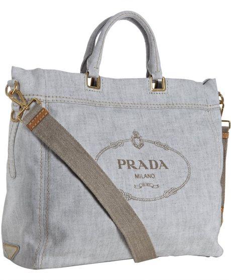 prada replica handbag - prada denim logo tote, fake prada bags for sale