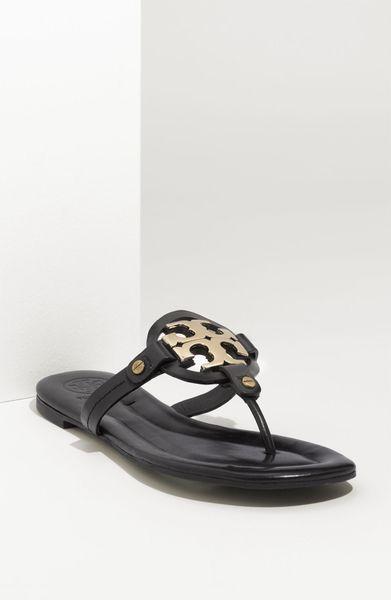 3a1da8510f8636 Black Sandals  Tory Burch Miller Sandals Black