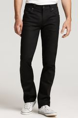 Ash Slim Jeans in Dry Black Coated Wash in Black for Men (dry black coated) - Lyst
