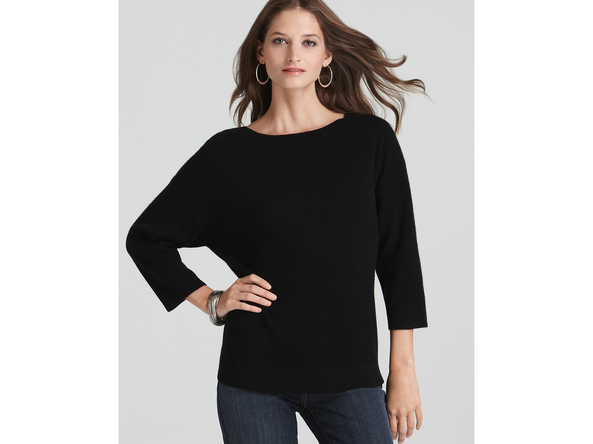 Black Cashmere Sweater