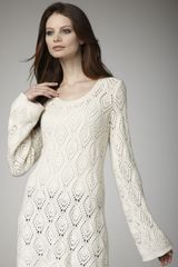 Autumn Cashmere Diamond-stitch Tunic - Lyst