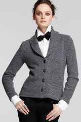 Bloomingdale's C By Textured Shawl Collar Blazer - Lyst