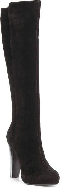 Calvin Klein Collection Kalen Boots in Black (black nabuk) - Lyst