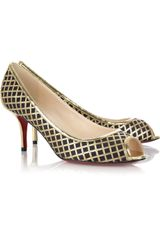 Christian Louboutin Treil 70 Leather Pumps - Lyst