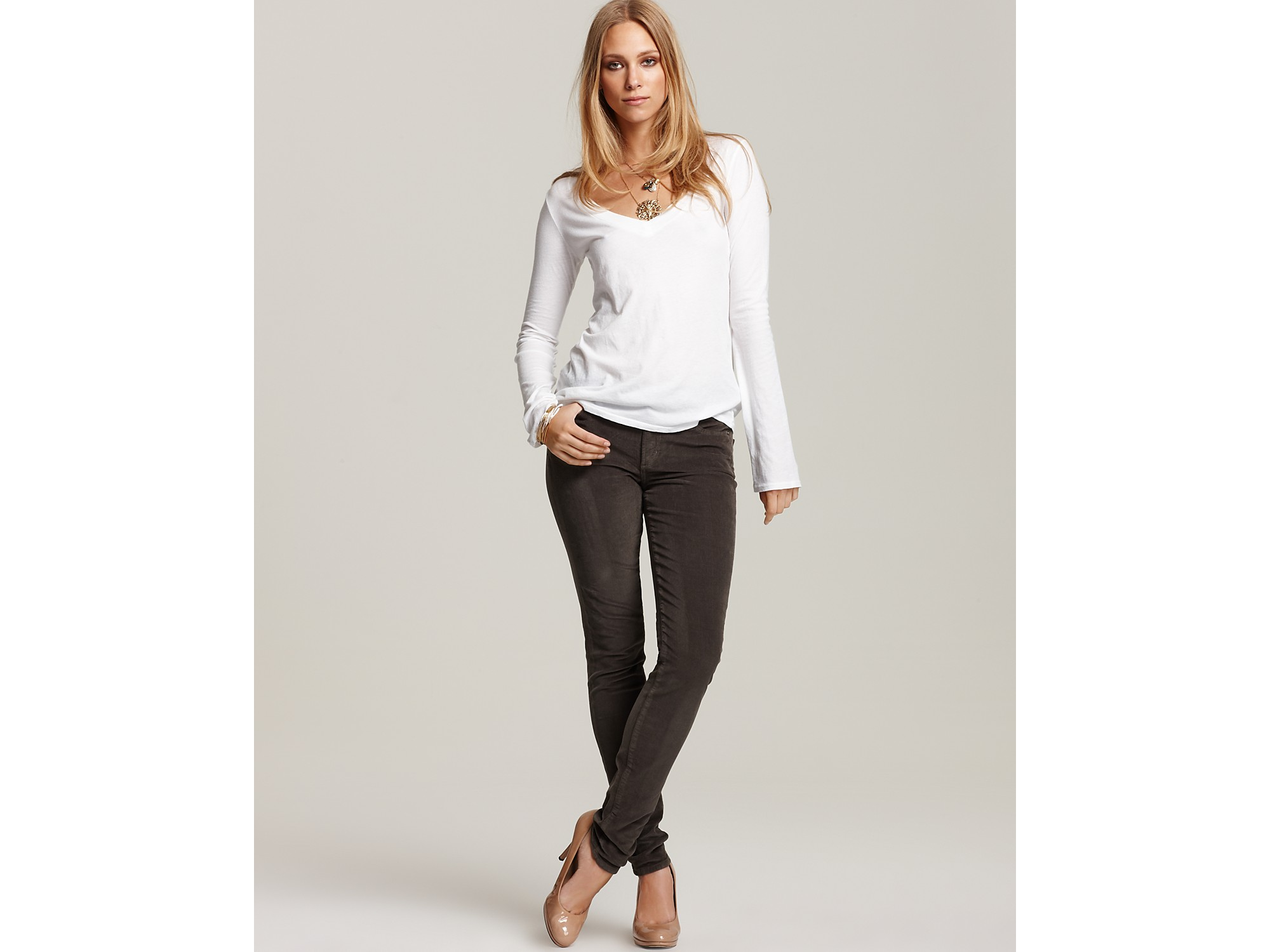 Corduroy Pants Womens Skinny | Gommap Blog