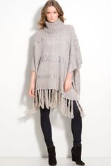 Collection Xiix Square Poncho - Lyst