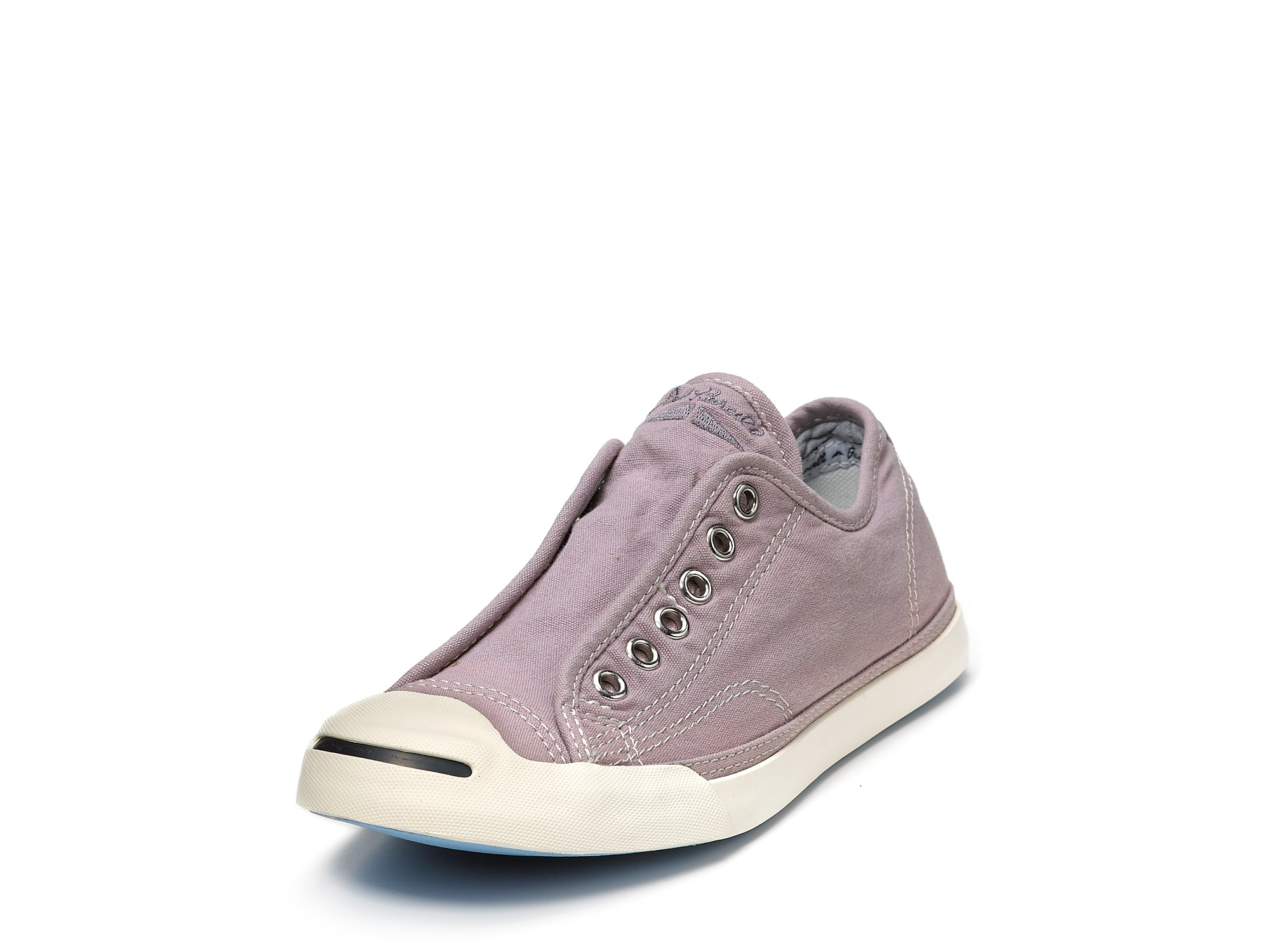 6a39c3bb9b9 Lyst - Converse Jack Purcell Slip-on Sneakers in Purple