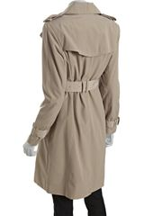 London Fog Removable Lining Double Breasted Trench Coat in Beige (tan) - Lyst