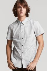 Marc By Marc Jacobs Jacob Striped Woven Sport Shirt - Lyst