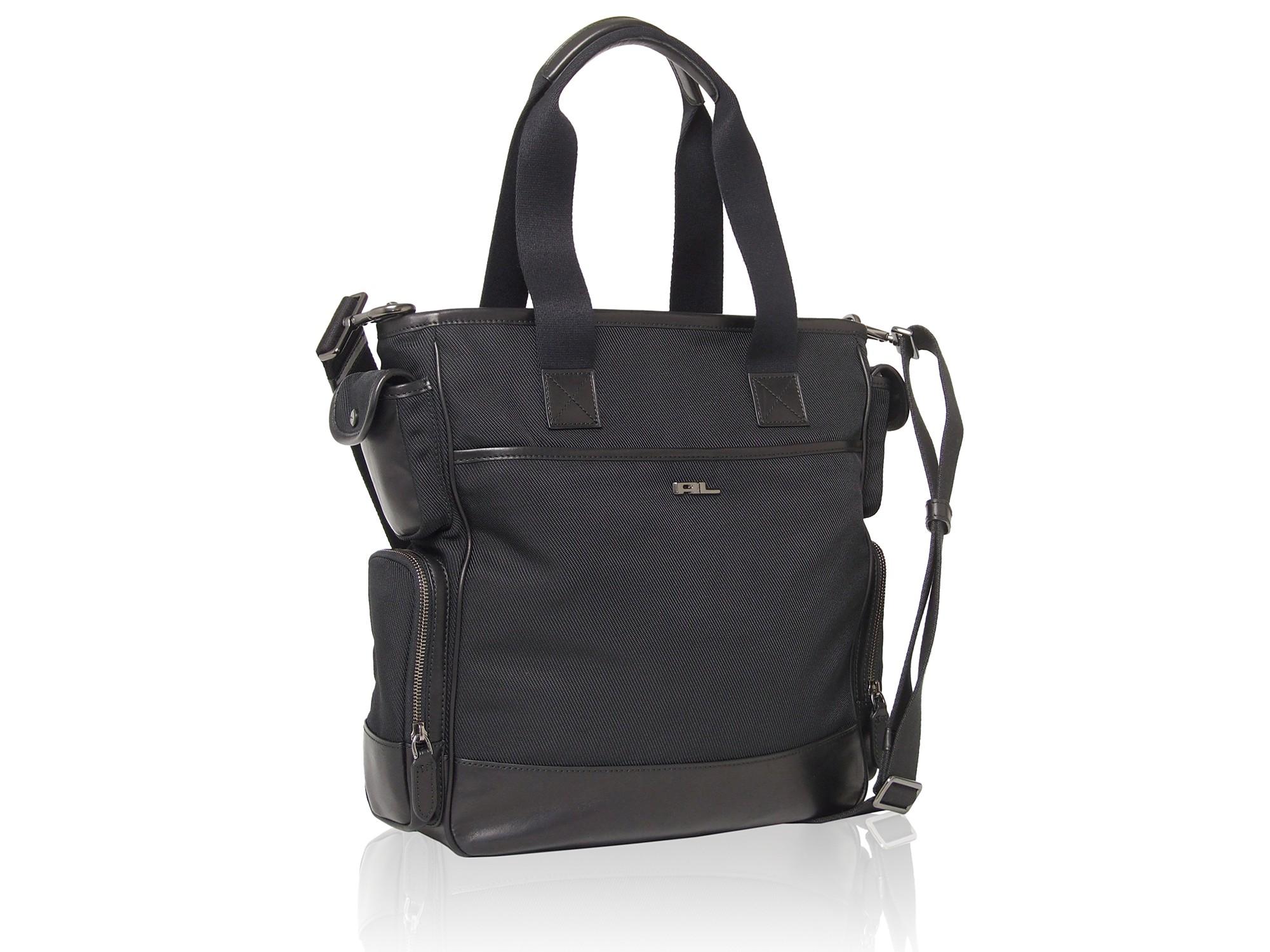 4fd76ee5196b Lyst - Ralph Lauren Black Label Nylon Tote Bag in Black for Men