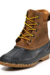 Sorel Cheyanne Lace Full Grain Boot - Lyst