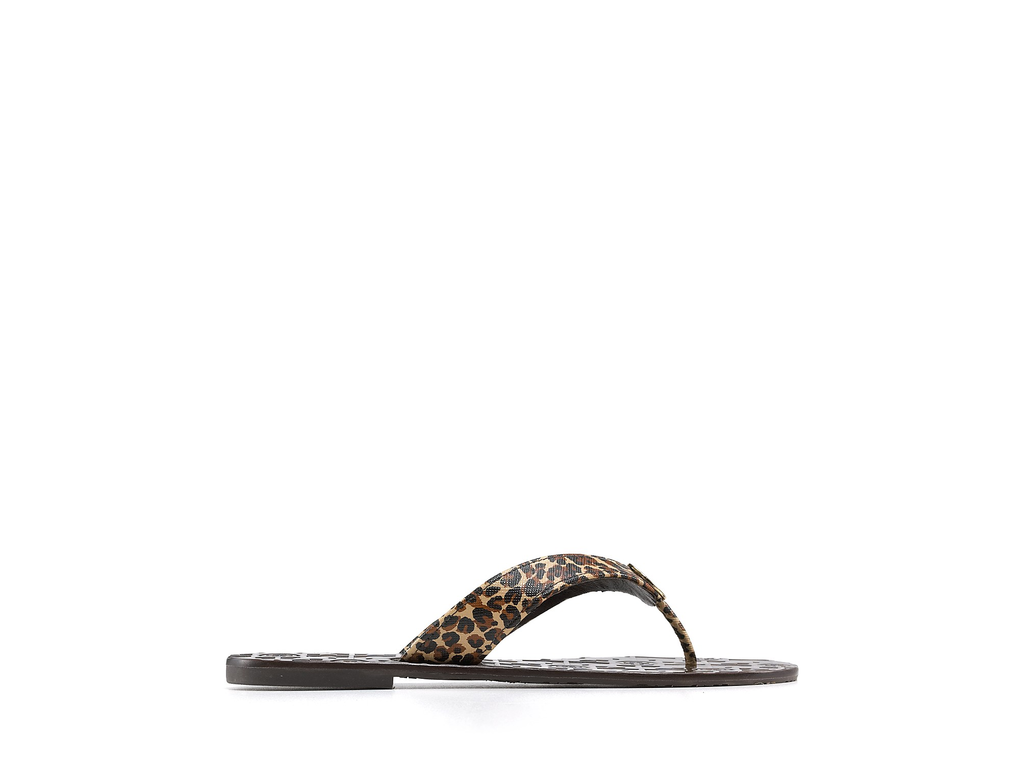 8558abe19674 Lyst - Tory Burch Thora Thong Sandals in Brown