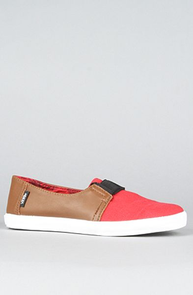 Vans The Banyon Sneaker in Brown and Red in Brown - Lyst