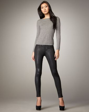 J Brand Faux-leather Pants - Lyst